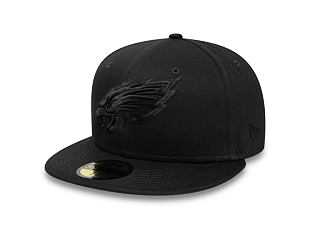 Kšiltovka New Era 59FIFTY Philadelphia Eagles Team Tonal Black