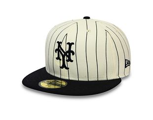 Kšiltovka New Era 59FIFTY New York Mets Retro Coops Pack Off White/Navy