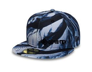 Kšiltovka New Era 59FIFTY Winterscape Gore-Tex Navy