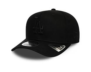 Kšiltovka New Era 9FIFTY Los Angeles Dodgers Stretch Snap Black/Black