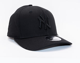 Kšiltovka New Era 9FIFTY Stretch-Snap Tonal Black New York Yankees Snapback Black