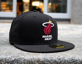 Kšiltovka New Era 59FIFTY Miami Heat Seasbas