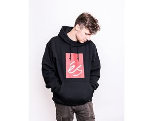 Mikina éS Main Block Hoodie Fleece BLACK