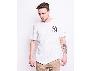Triko New Era New York Yankees Aop Tee White