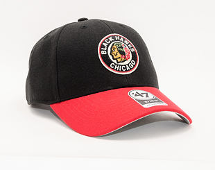 Kšiltovka 47 Brand Chicago Blackhawks Vintage MVP Black/Red 1937