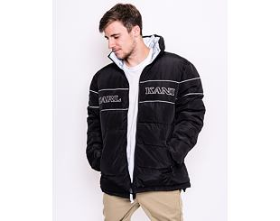 Oboustranná Bunda 2v1 Karl Kani Retro Reversible Puffer Jacket Black 6076425
