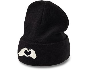 Kulich State of WOW Handsign Beanie - Love Black