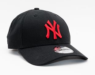 Kšiltovka New Era 9FORTY MLB League Essential New York Yankees Strapback Black