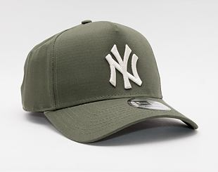 Kšiltovka New Era 9FORTY A-Frame MLB Color Essential New York Yankees Snapback New Olive / Optic Whi