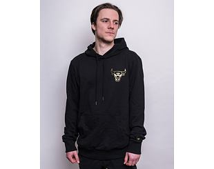 Mikina New Era NBA Metallic Hoody Chicago Bulls Black/Gold