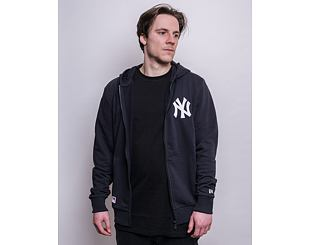 Mikina New Era MLB Logo Full Zip Hoody New York Yankees Navy
