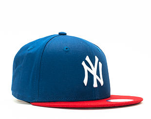 Dětská Kšiltovka New Era League Basic New York Yankees Royal/Scarlet Snapback Youth