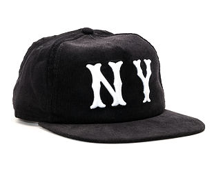 Kšiltovka New Era Cooperstown Cord New York Highlanders Black 9FIFTY Snapback