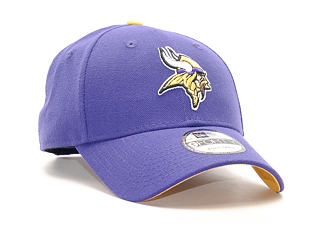 Kšiltovka New Era 9FORTY The League Minnesota Vikings Strapback Team Color