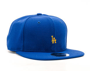 Kšiltovka New Era Border Edge Pique Los Angeles Dodgers 9FIFTY Blue Strapback