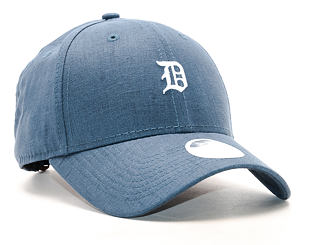 Dámská Kšiltovka New Era Linen Small Logo Detroit Tigers 9FORTY Navy Strapback