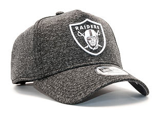 Kšiltovka New Era Jersey Tech A-Frame Oakland Raiders 9FORTY Grey Heather/White Snapback