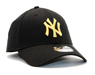 Kšiltovka New Era League Essential New York Yankees 39THIRTY Black/Yellow