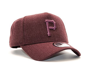 Kšiltovka New Era Seasonal Heather 9FORTY A-Frame Pittsburgh Pirates Heather Medium Red Snapback