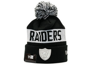 Kulich New Era Team Tonal Knit Oakland Raiders Official Team Color