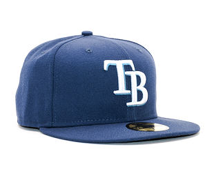 Kšiltovka New Era Authentic Perfomance 2017 Tampa Bay Rays 59FIFTY Team Color