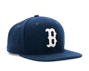 Kšiltovka New Era Melton Original Fit Boston Red Sox 9FIFTY Navy Snapback