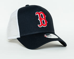 Kšiltovka New Era  Team Essential Boston Red Sox 9FORTY A-FRAME TRUCKER  Official Team Color /