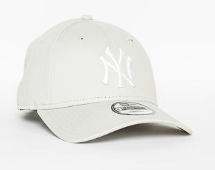 Kšiltovka New Era  League Essential New York Yankees 9FORTY Strapback Stone / Optic White