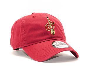 Kšiltovka New Era Washed Essential Cleveland Cavaliers 9TWENTY Official Team Color Strapback