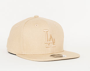 Kšiltovka New Era Original Fit Canvas Los Angeles Dodgers 9FIFTY Stone Snapback