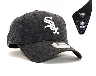 Kšiltovka New Era 9FORTY Chicago White Sox Winterised The League Black/White Strapback