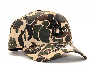 Kšiltovka New Era 9FORTY A-Frame Detroit Tigers Dark Green Camo Snapback