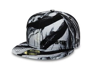 Kšiltovka New Era 59FIFTY Winterscape Gore-Tex Black