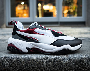 Boty Puma THUNDER FASHION 2.0 Puma White-Puma Black 37037606