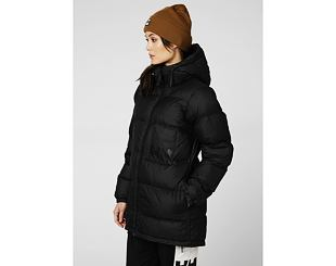 Dámská Bunda Helly Hansen P&C Puffer Parka 990 Black