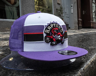 Kšiltovka New Era 9FIFTY Toronto Raptors Stripe Hardwood OTC