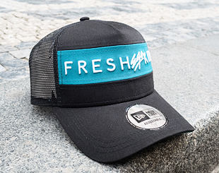 Kšiltovka New Era 9FORTY A-Frame Trucker Colour Block Fresh Ego Kid Black/Teal