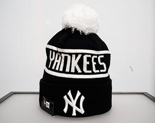 Kulich New Era New York Yankees Bobble Knit Black/White
