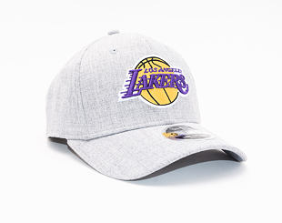 Kšiltovka New Era 9FIFTY Los Angeles Lakers Stretch Snap Heather Base
