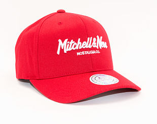 Kšiltovka Mitchell & Ness 230 Pinscript Scarlet Red 110