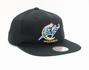 Kšiltovka Mitchell & Ness Washington Wizards 462 Team Logo Deadstock Throwback