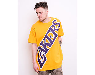 Triko Mitchell & Ness Los Angeles Lakers Big Face