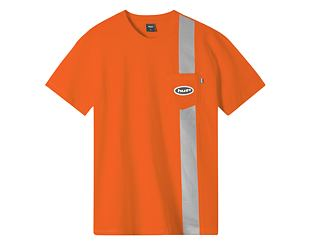 Triko HUF Safety Pocket Orange