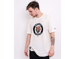 Triko New Era MLB Cooperstown Tee Detroit Tigers Off White