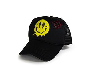 Kšiltovka Alumni Smiley Foam Trucker Black/Black