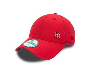 Kšiltovka NEW ERA 9FORTY Flawless Logo New York Yankees Strapback Scarlet