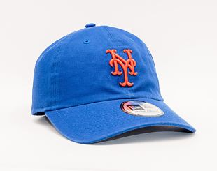 Kšiltovka New Era 9TWENTY MLB Washed Casual Classic New York Mets Team Color