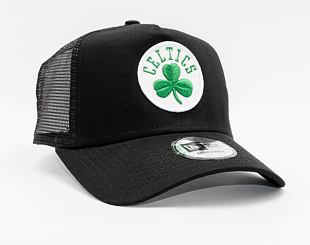 Kšiltovka New Era 9FORTY A-FRAME Trucker NBA Dark Base Team Boston Celtics Black