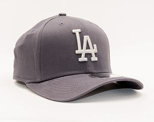 Kšiltovka New Era 9FIFTY Stretch Snap MLB League Essential Los Angeles Dodgers Graphite