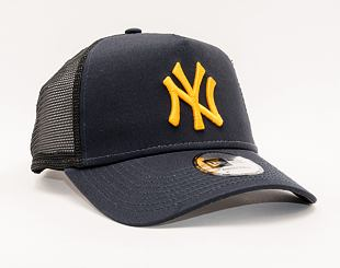 Kšiltovka New Era 9FORTY A-Frame Trucker MLB League Essential New York Yankees Snapback Navy